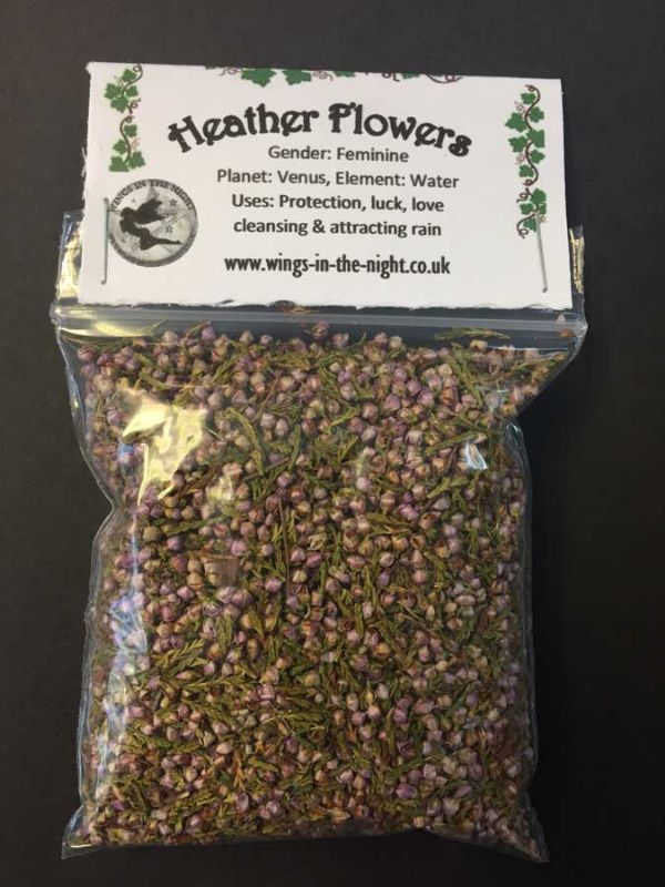 HEATHER FLOWERS Dried Herb - Protection, Rain-Making, Luck